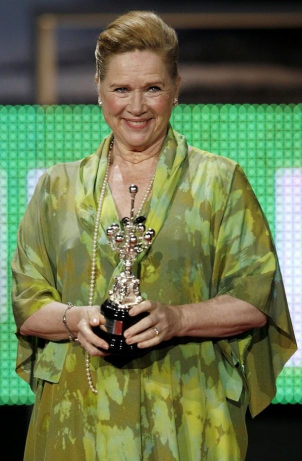 SPAIN-FILM FESTIVAL-ULLMAN-DONOSTIA AWARD