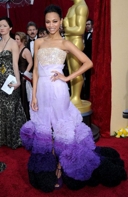 Zoe Saldana Red Carpet